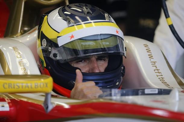 """Pedro de la Rosa: """"Estoy muy contento, porque por primera vez, hemos podido ganar a un Marussia"""""""