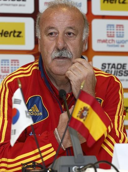 """Del Bosque, sobre la concentración: """"Se han puesto las raíces para el futuro de la Selección"""""""