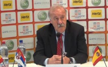 """Del Bosque: """"Intentaremos ser justos con la lista para la Eurocopa"""""""