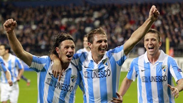 El fútbol se enamora del Málaga