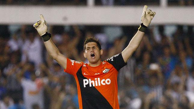Rafael brilha e Santos vence Palmeiras nas penalidades
