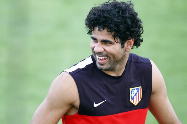 """Diego Costa: """"Espero dar el máximo y que este año sea muy bonito tanto para mí como para el Atlético"""""""