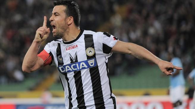 Grupo A: Eto'o da el liderato al Anzhi, Udinese es segundo