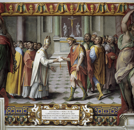 El fraude de la Donación de Constantino
