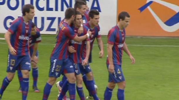 El SD Eibar toca el cielo y vuelve a Segunda (0-1)