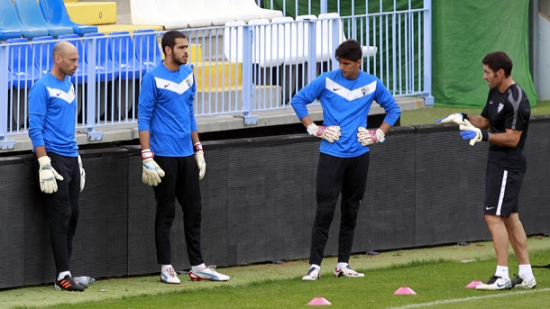 Pellegrini se ausenta del último entrenamiento de la semana