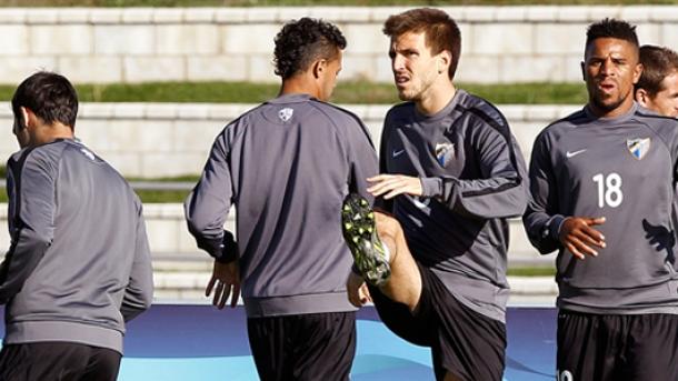 Penúltimo entrenamiento previo al duelo frente al Milán