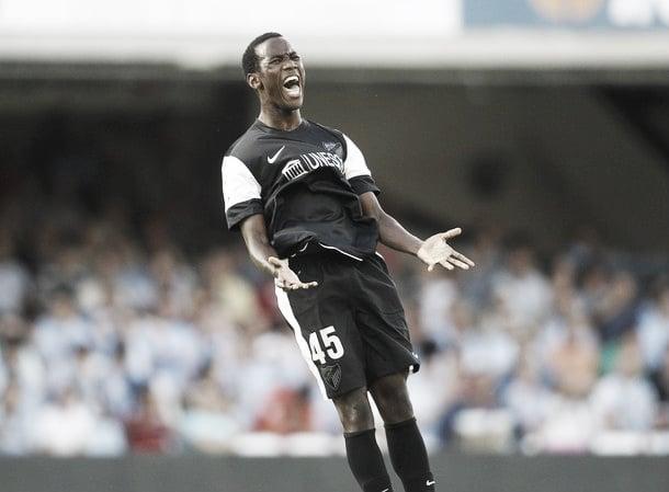 Fabrice debuta y da la victoria al Málaga en Balaídos