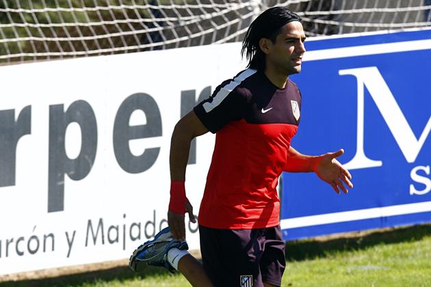 El Atlético de Madrid se relaja, a la espera de Falcao