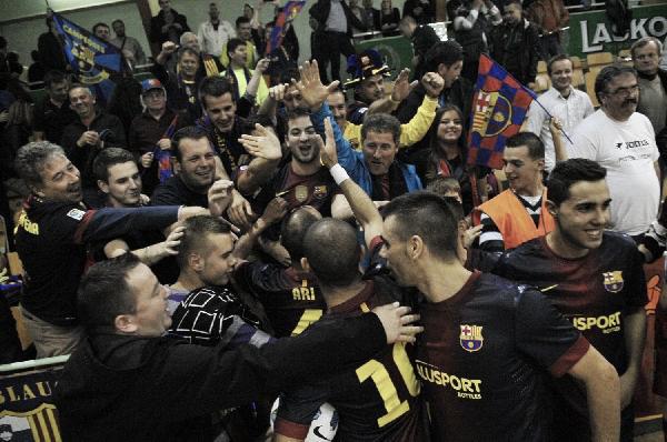 El FC Barcelona Alusport continúa su idilio europeo