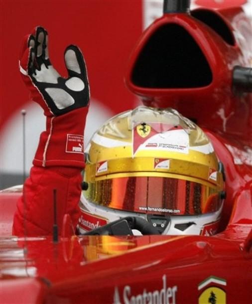 Alonso sigue en lo más alto