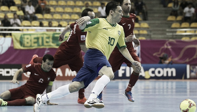 Brasil hace pleno al ganar a Portugal