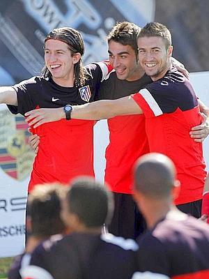 """Filipe Luis: """"Somos un equipo ganador y nos hemos acostumbrado a ganar"""""""