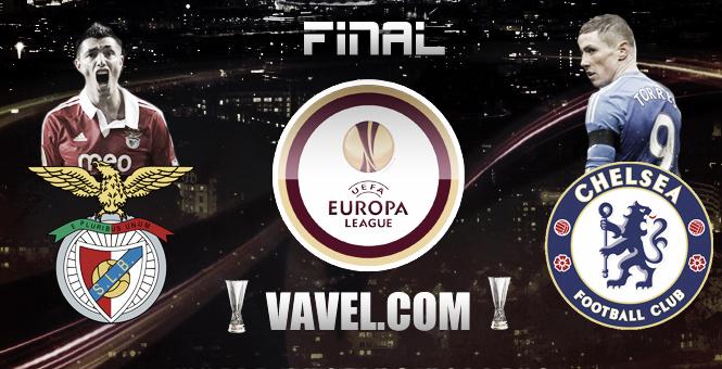 Benfica Lisbonne - Chelsea FC, Finale de l'Europa League, en direct  (Terminé)