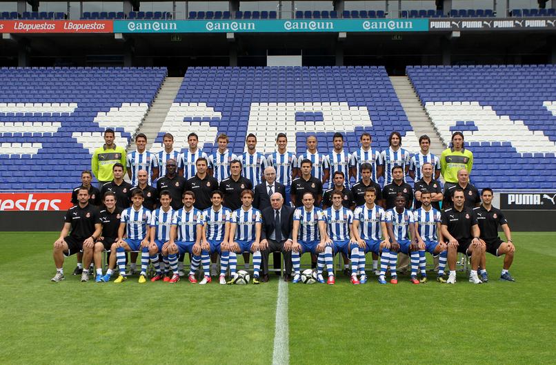 El Espanyol se hace la foto oficial