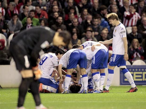 El Real Zaragoza despide 2012 con victoria