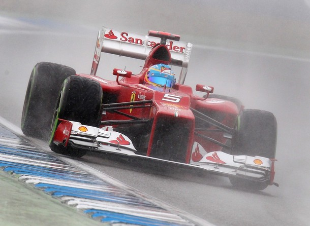 GP Allemagne : Alonso prend la pole