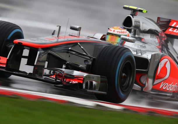 GP Grande-Bretagne : Essais libres, une journée délavée