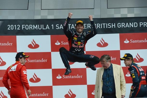 GP Grande-Bretagne : Webber s'impose