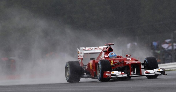 GP Grande-Bretagne : Alonso surnage et obtient la pole