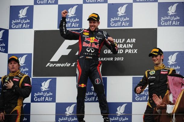 GP Bahrein : Victoire de Vettel