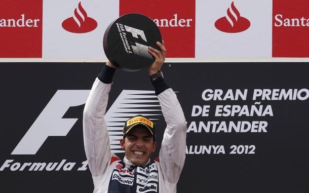 GP Espagne : La surprise Maldonado
