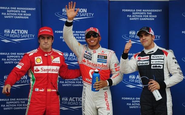 GP Espagne : Hamilton en pole