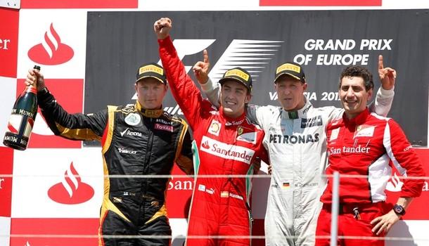 GP Europe : Alonso profite