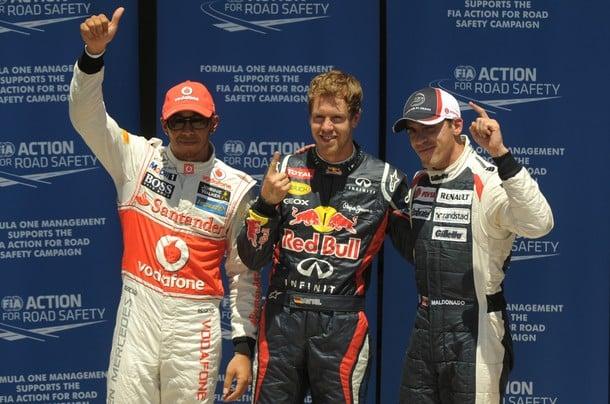 GP Europe : Pole pour Vettel