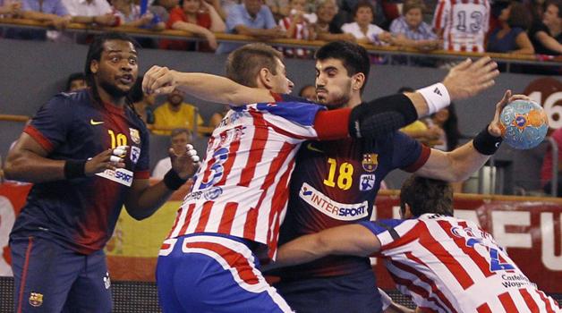 El FC Barcelona se lleva la Copa ASOBAL ante un Atlético impotente