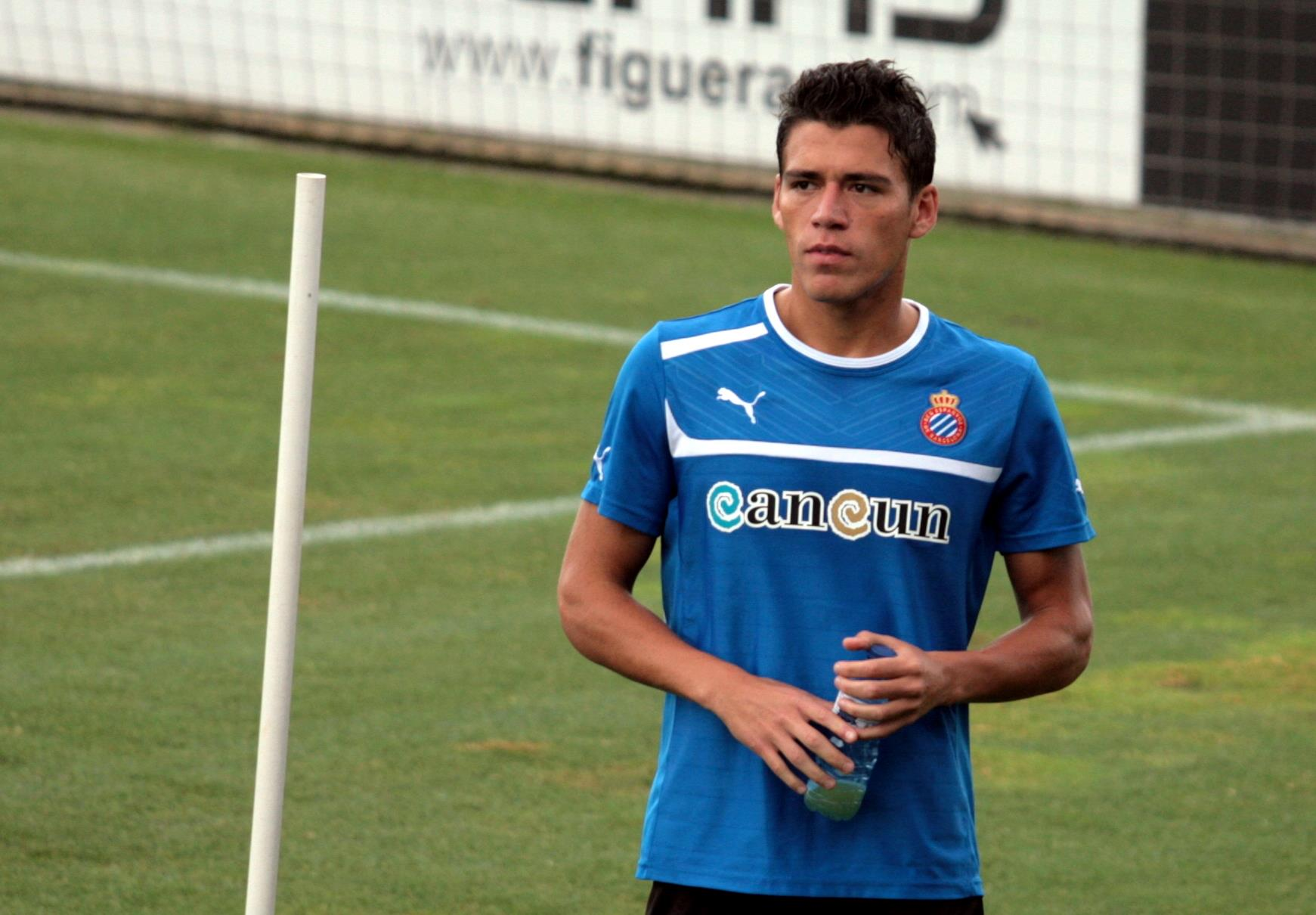 Héctor Moreno, con México