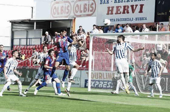 SD Huesca – Recreativo de Huelva: Puntuaciones del Huesca, jornada 38