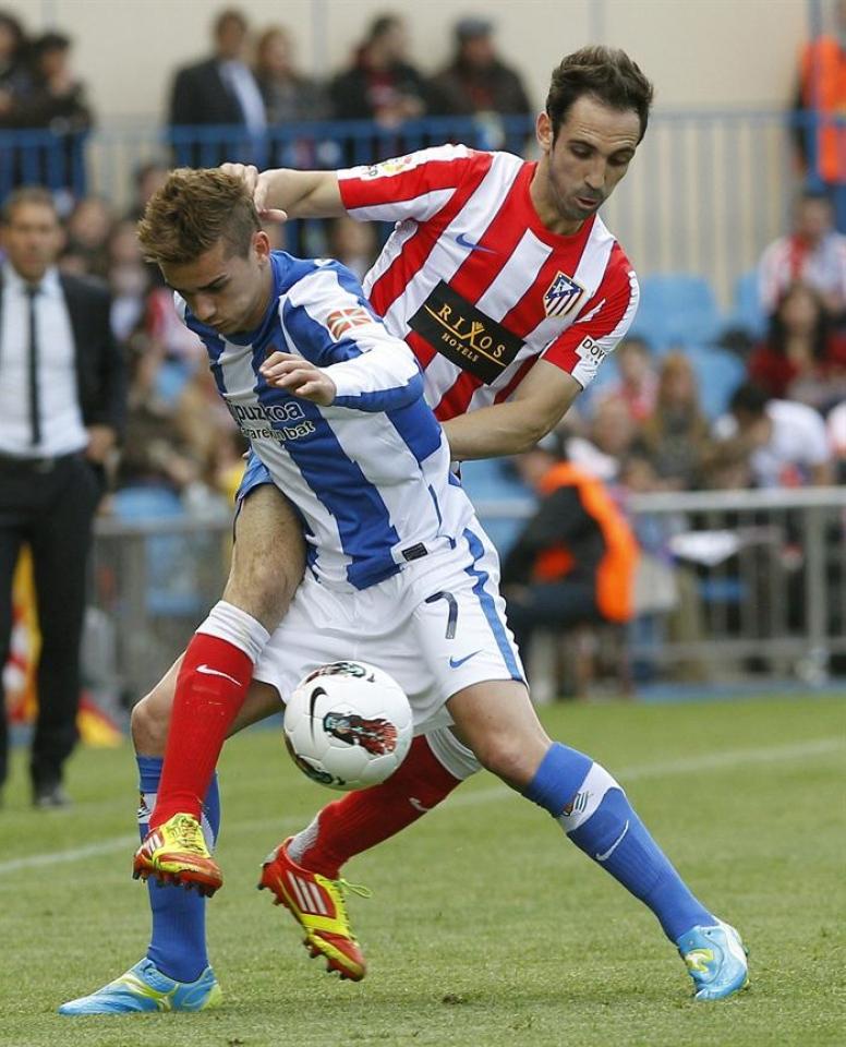 Resultado Real Sociedad 0-1 Atlético de Madrid en la Liga 2012