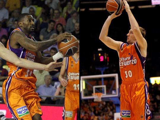 El Valencia Basket se despide de Dean y Kuksiks