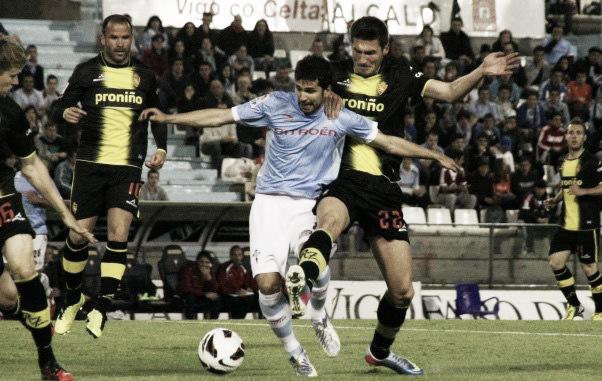 El Celta deja al Real Zaragoza tocado y hundido