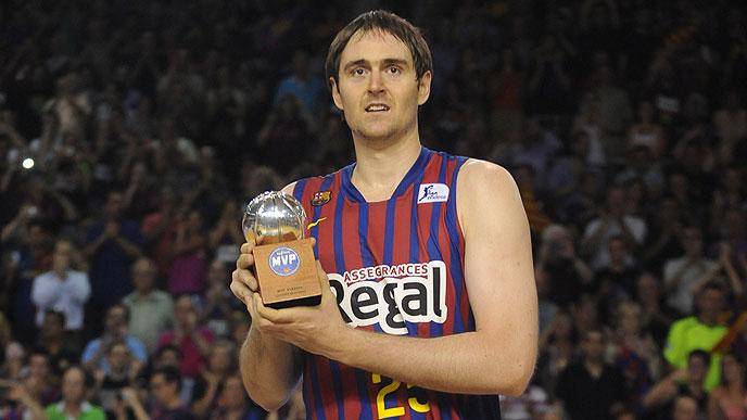 Erazem Lorbek es designado el MVP de la final