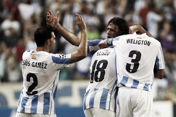 El Málaga cumple su cita con la historia y alcanza la Champions