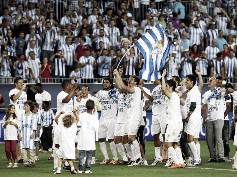 Málaga 2011/2012: temporada histórica con la Champions como colofón