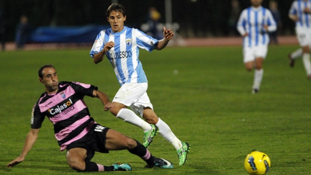 Un Málaga con poco gol pierde ante el Xerez