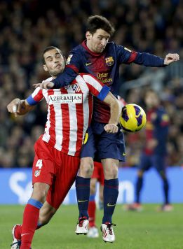"""Mario Suárez: """"El Barcelona es el mejor; está un peldaño por encima"""""""