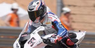 Melandri sube a lo más alto del podio en la segunda carrera de Aragón