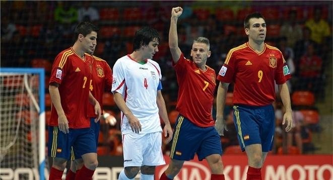 España ya conoce a sus rivales en la fase de clasificación para el Europeo de Fútbol Sala de 2014