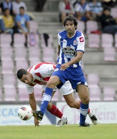 El Dépor gana por la mínima al CD Lugo