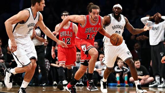 Bulls vence Nets e empata a série em 1 a 1