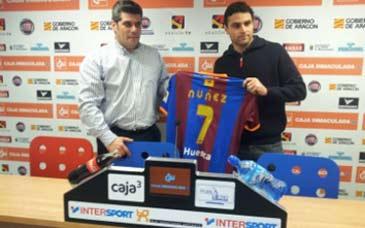 Antonio Nuñez muy cerca de renovar con el Huesca