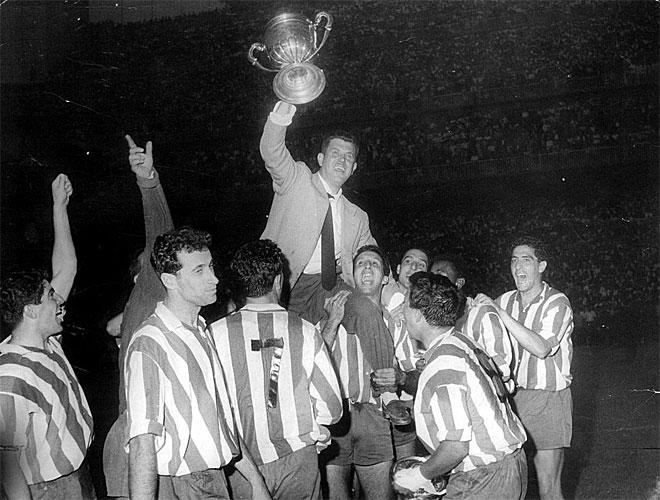 """Serial final Copa del Rey: 1960, """"El milagro Villalonga"""" convierte al Atlético en campeón por primera vez"""