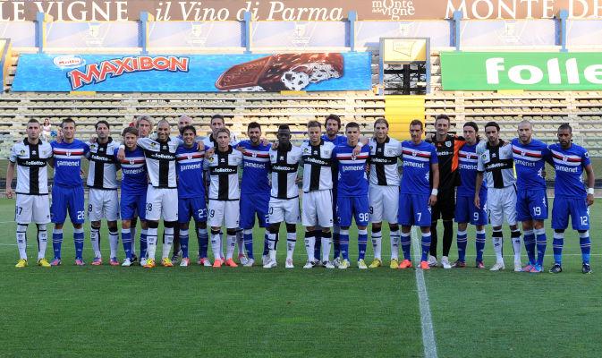Parma y Sampdoria empatan en un amistoso