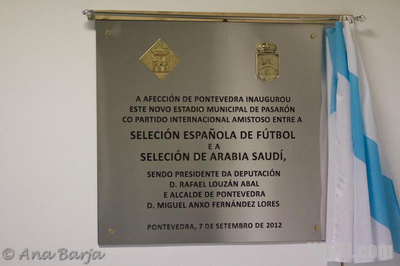 Inaugurado oficialmente el Nuevo Estadio de Pasarón