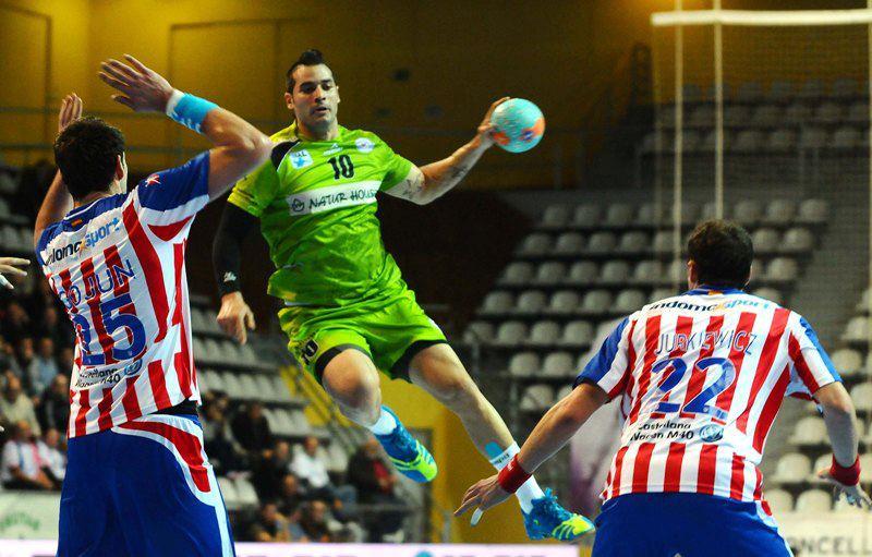 Naturhouse da la cara, pero no puede con el Atlético de Madrid