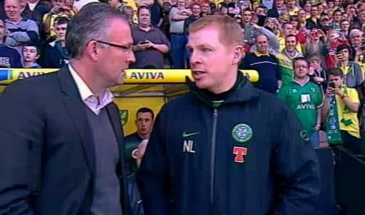 Celtic loss 2-0 to Norwich in spirited testimonial for Drury